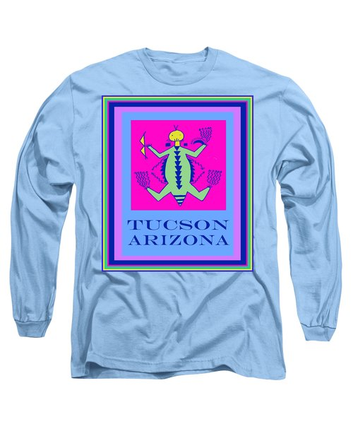 Long Sleeve T-Shirt featuring the digital art Tucson Arizona Shaman by Vagabond Folk Art - Virginia Vivier
