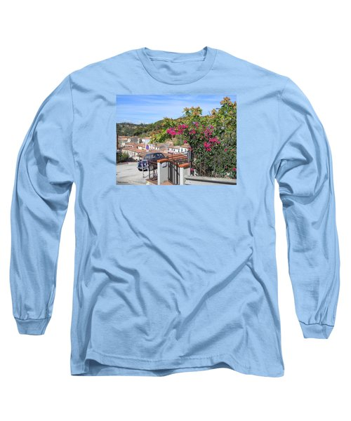 Long Sleeve T-Shirt featuring the photograph Tuscany Hills by Ramona Matei
