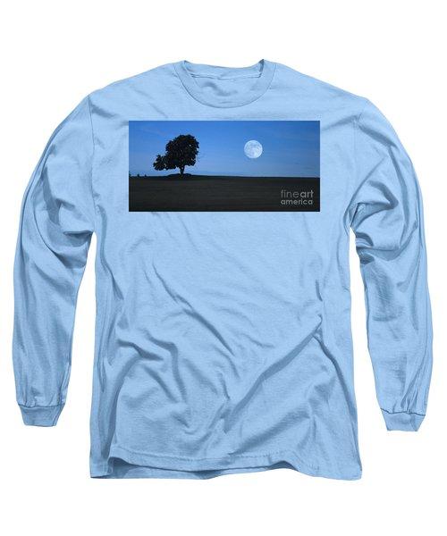 Twilight Solitude Long Sleeve T-Shirt by Sharon Elliott