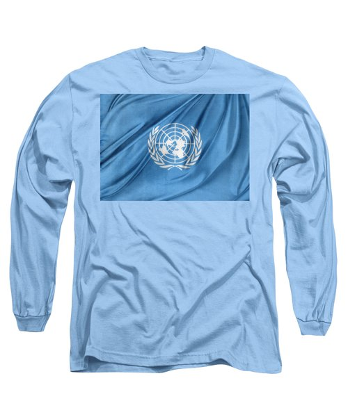 United Nations Long Sleeve T-Shirt by Les Cunliffe