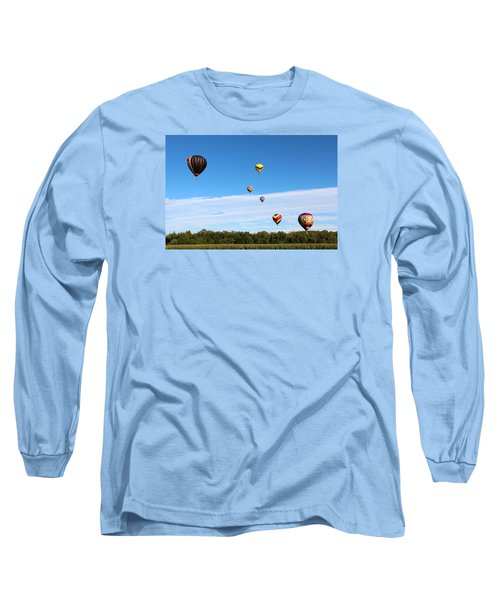 Up Up And Away Long Sleeve T-Shirt by George Jones