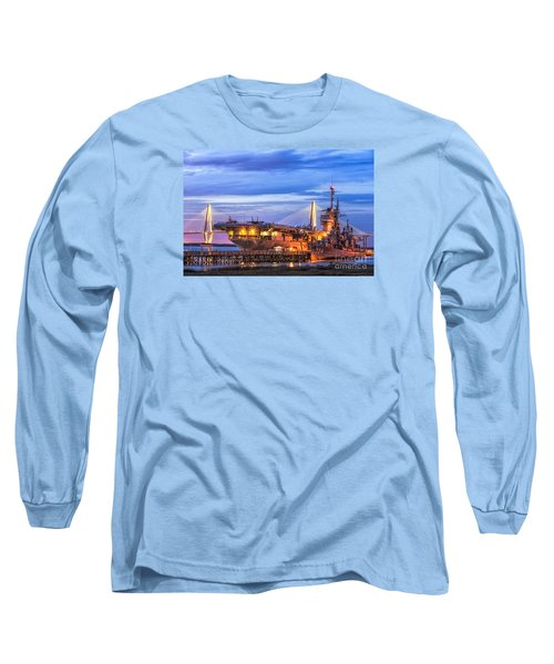Uss Yorktown Museum Long Sleeve T-Shirt by Jerry Fornarotto
