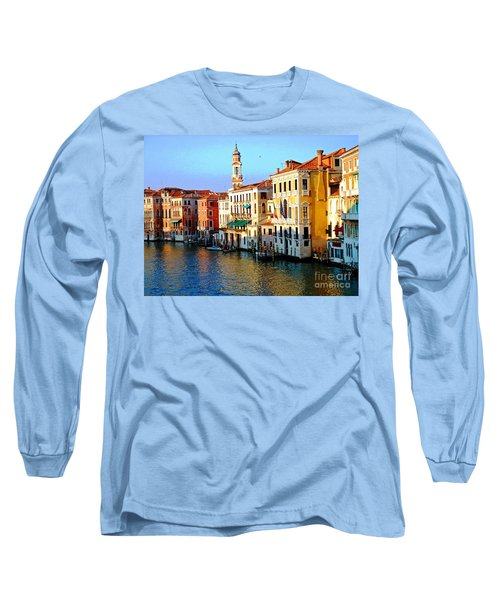 Venezia Grand Canal Long Sleeve T-Shirt