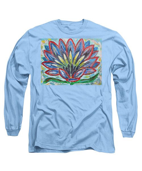 Hawaiian Blossom Long Sleeve T-Shirt