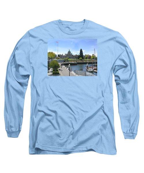 Victoria's Parliament Buildings Long Sleeve T-Shirt