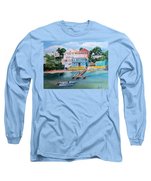 Vieques Puerto Rico Long Sleeve T-Shirt