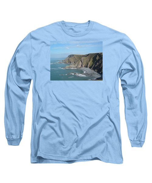 Higher Sharpnose Point Long Sleeve T-Shirt by Richard Brookes