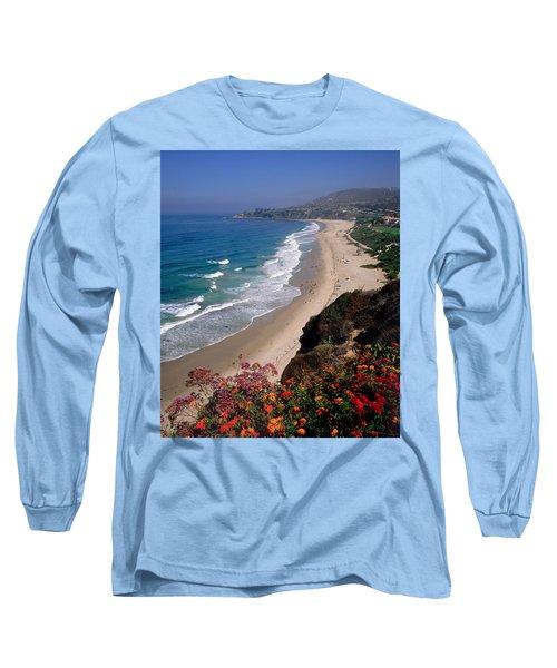 View Of Salt Creek Beach Long Sleeve T-Shirt