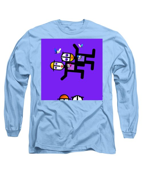 Village Life Long Sleeve T-Shirt