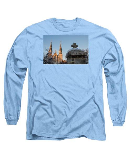 Villanova Wall And Chapel Long Sleeve T-Shirt