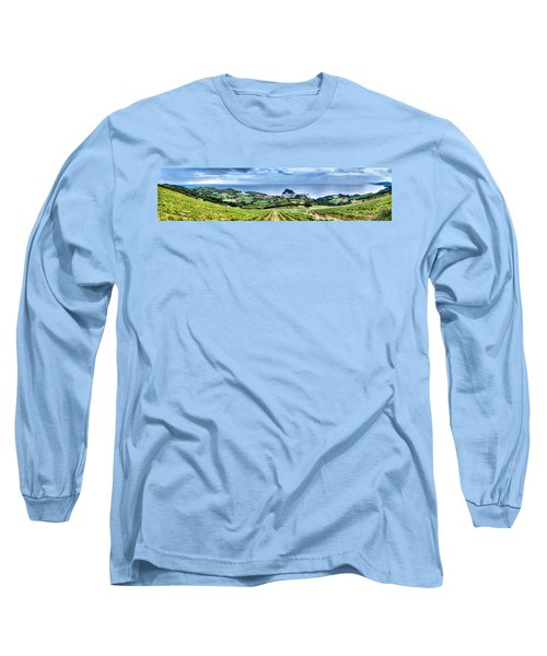 Vineyards By The Sea Long Sleeve T-Shirt