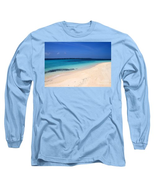 Long Sleeve T-Shirt featuring the photograph Virgin Island Cebu by Joey Agbayani