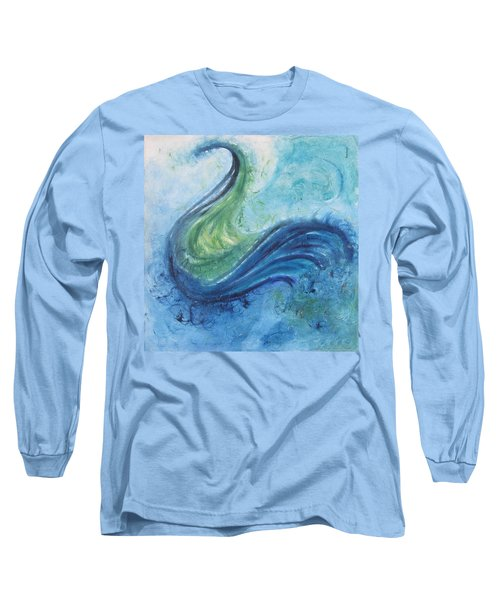 Peacock Vision In The Mist Long Sleeve T-Shirt