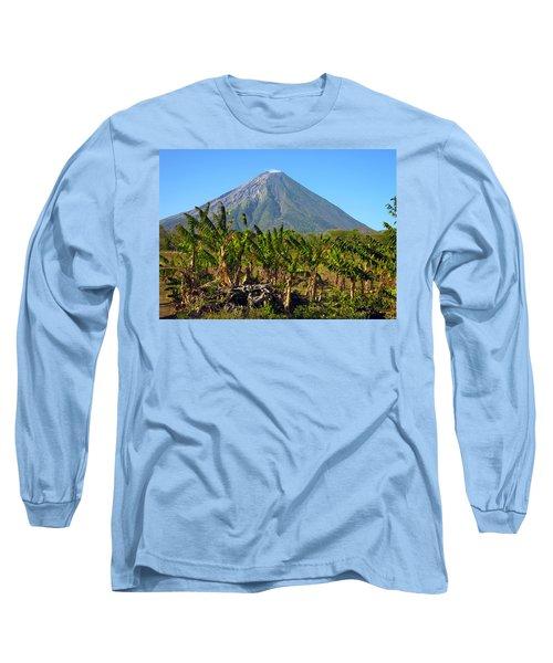 Volcan Concepcion Nicaragua Long Sleeve T-Shirt