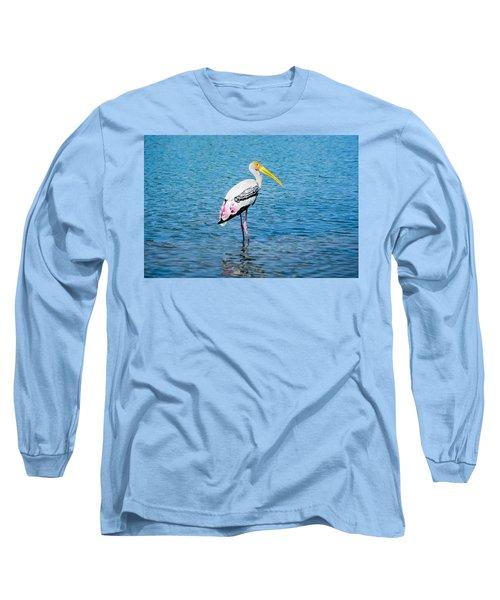 Wading Stork Long Sleeve T-Shirt