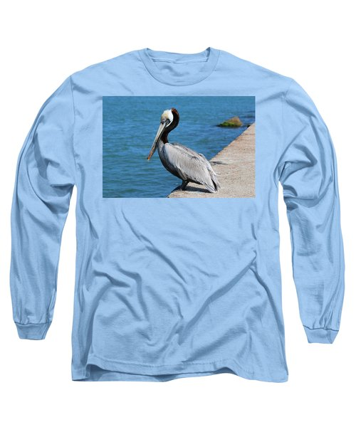 Waiting For A Fish  Long Sleeve T-Shirt