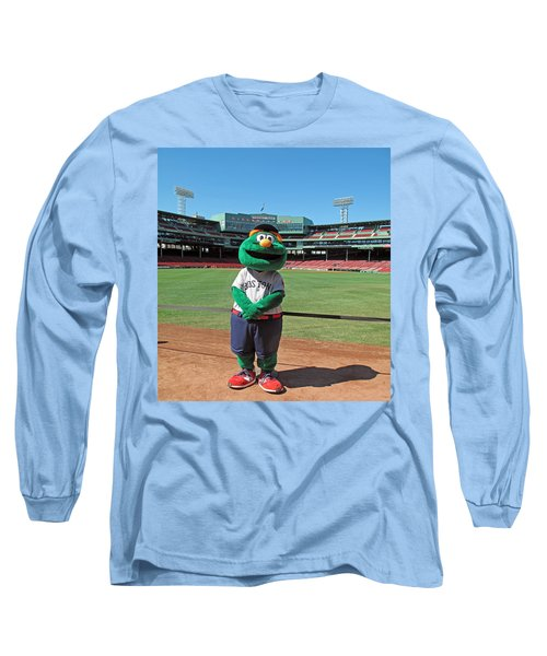 Long Sleeve T-Shirt featuring the photograph Wally by Barbara McDevitt
