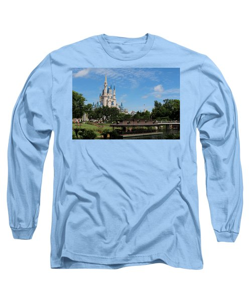 Walt Disney World Orlando Long Sleeve T-Shirt by Pixabay