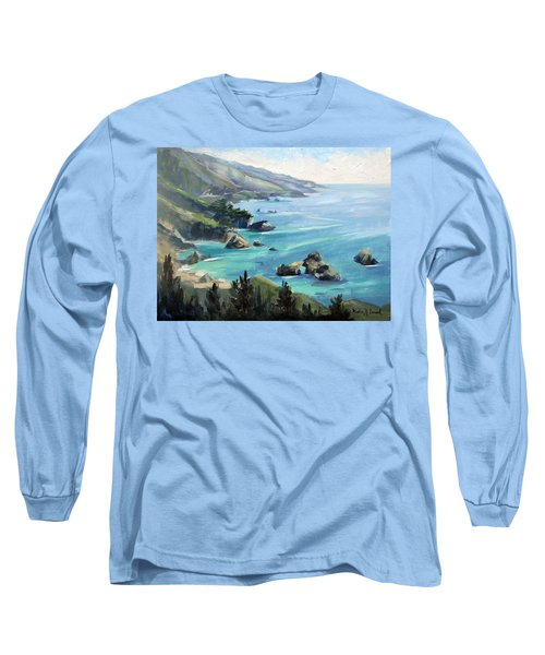 Warm Winter Day Big Sur Long Sleeve T-Shirt