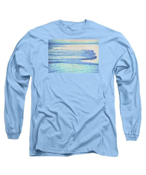 Washed Away Long Sleeve T-Shirt by Cynthia Lagoudakis