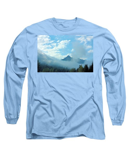 Long Sleeve T-Shirt featuring the photograph Washington State by Kristin Elmquist