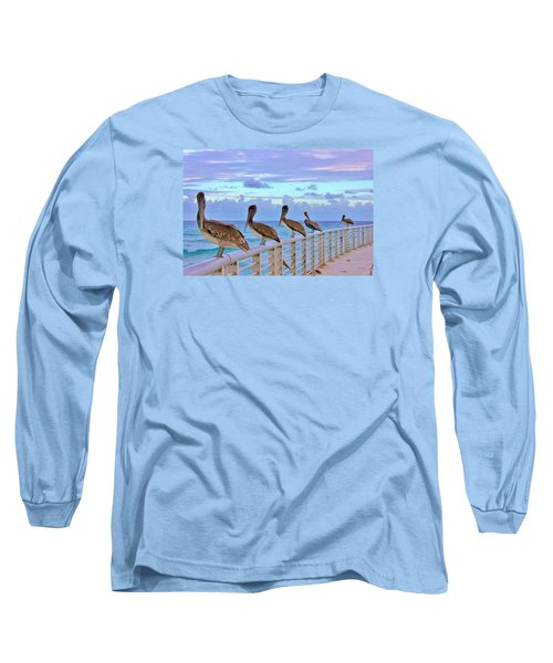 Watching The Ocean Long Sleeve T-Shirt
