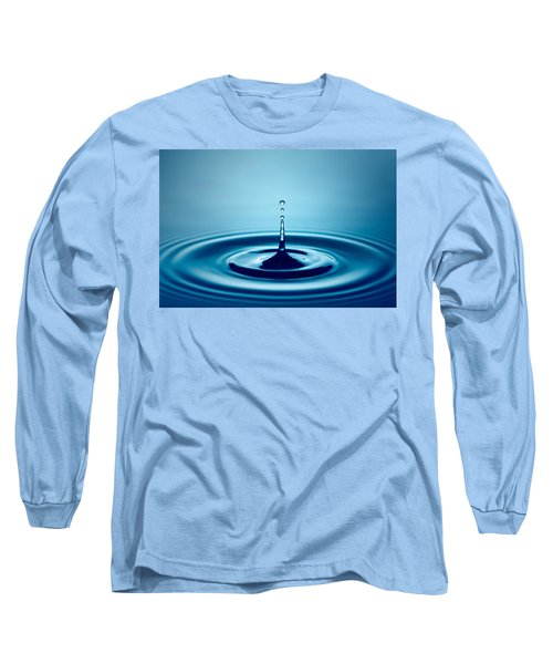 Water Drop Splash Long Sleeve T-Shirt