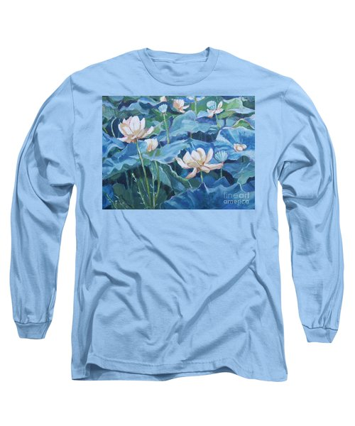 Water Lilies Two Long Sleeve T-Shirt