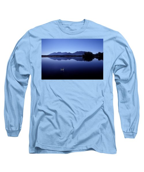 Water Mirror Long Sleeve T-Shirt