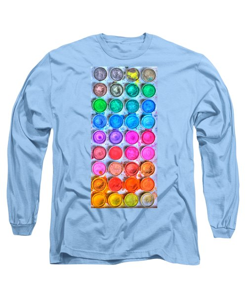 Watercolor Delight Long Sleeve T-Shirt