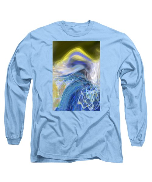 Long Sleeve T-Shirt featuring the digital art Wave Theory by Richard Thomas
