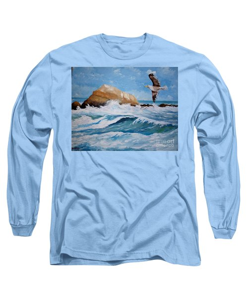 Waves Of The Sea Long Sleeve T-Shirt