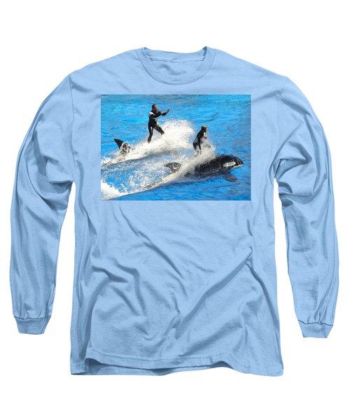 Whale Racing Long Sleeve T-Shirt
