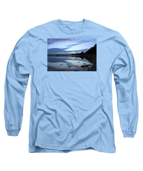 Long Sleeve T-Shirt featuring the photograph When Gold Turned To Blue by Wendy Wilton