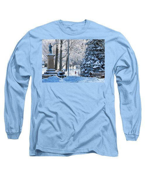 Whitehouse Village Park  7360 Long Sleeve T-Shirt by Jack Schultz