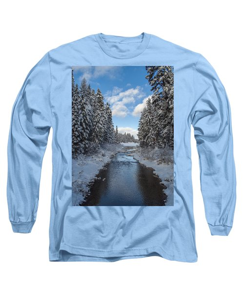 Winter Creek Long Sleeve T-Shirt by Fran Riley