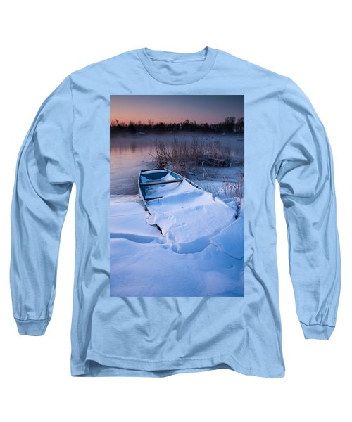 Long Sleeve T-Shirt featuring the photograph Winter Dawn by Davorin Mance