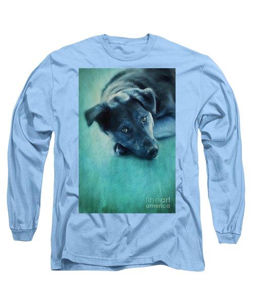Winter Dog Long Sleeve T-Shirt