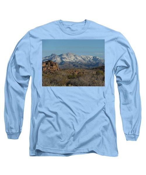 Winter In The Haulapai's Long Sleeve T-Shirt