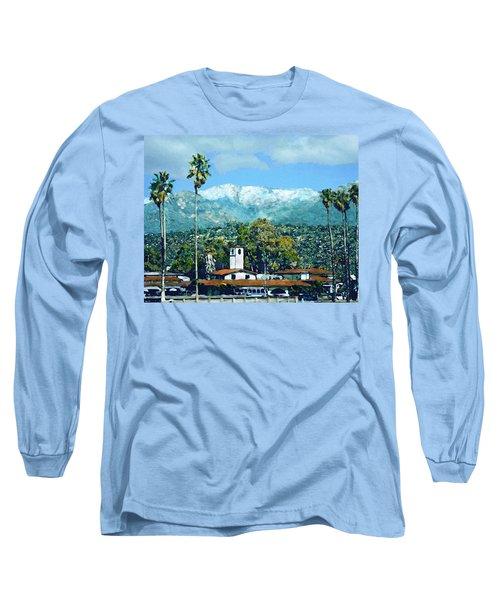 Winter Paradise Santa Barbara Long Sleeve T-Shirt