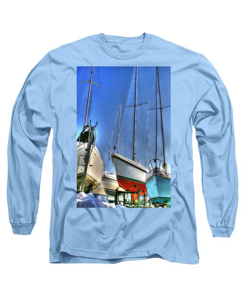 Winter Shipyard Long Sleeve T-Shirt
