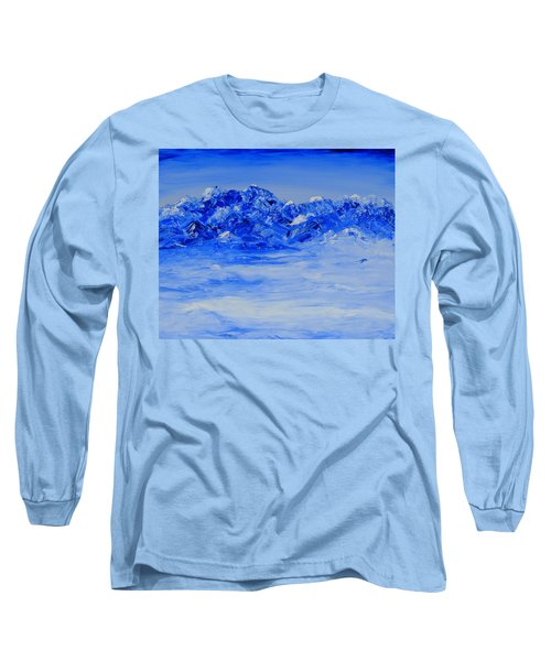 Winters Frosty Hues Long Sleeve T-Shirt