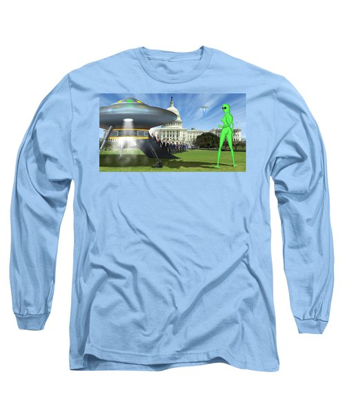 Wip - Washington Field Trip Long Sleeve T-Shirt by Mike McGlothlen