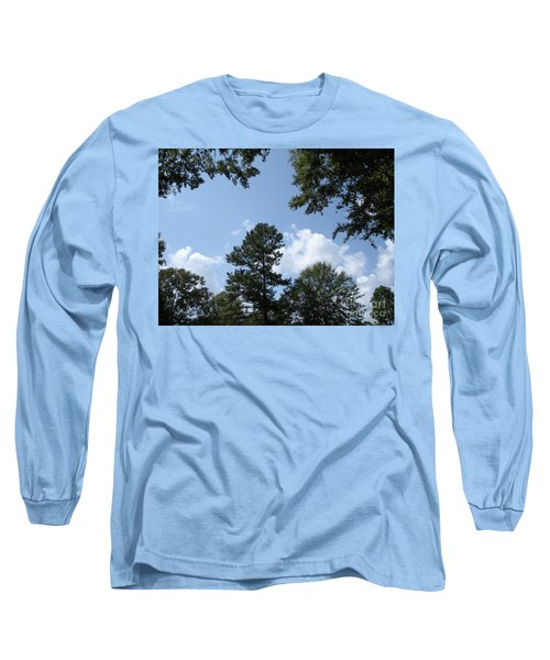 Wooded Forest  Long Sleeve T-Shirt