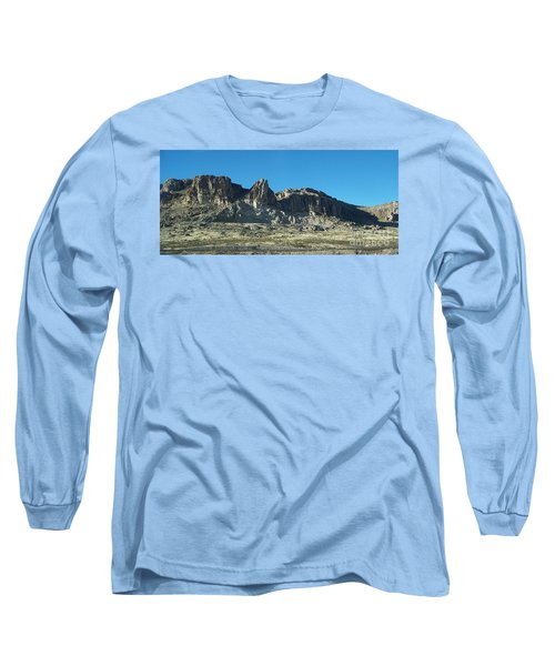 Long Sleeve T-Shirt featuring the photograph Western Landscape by Eunice Miller