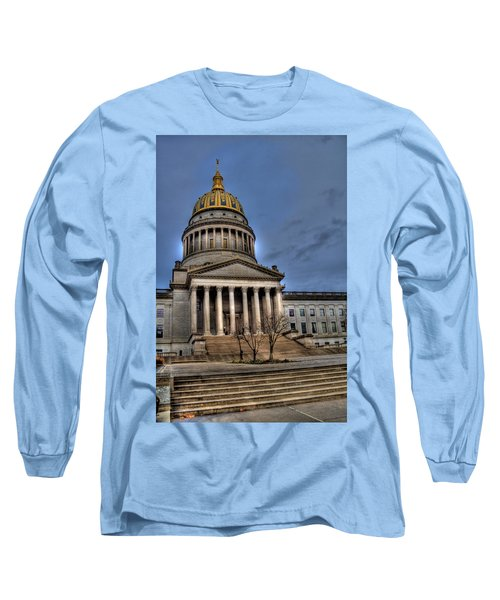 Wv Capital Building 2 Long Sleeve T-Shirt by Jonny D