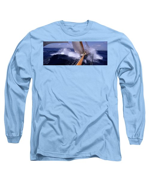 Yacht Race, Caribbean Long Sleeve T-Shirt