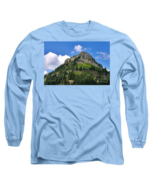 Long Sleeve T-Shirt featuring the photograph Yakima Peak by Sean Griffin