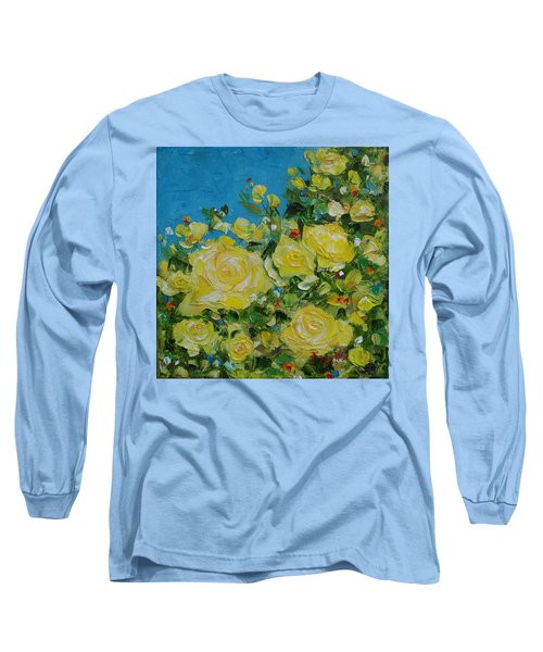 Yellow Roses Long Sleeve T-Shirt