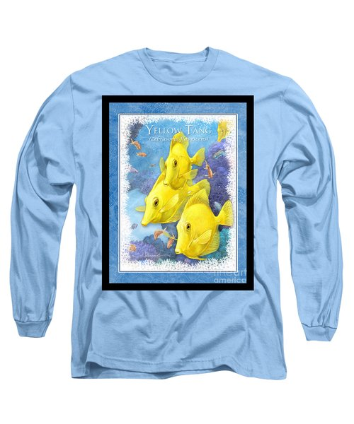 Yellow Tang Long Sleeve T-Shirt